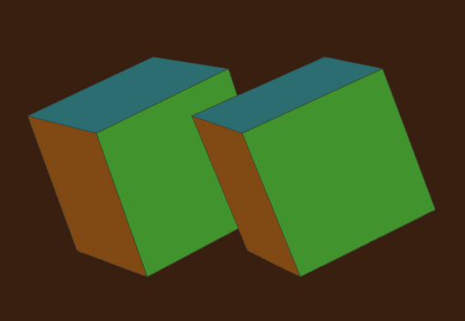 overlapping stereo pair